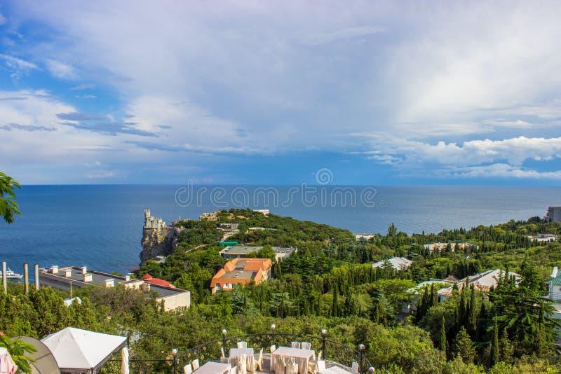 Colina en Yalta, Crimea fotografía de archivo libre de regalías