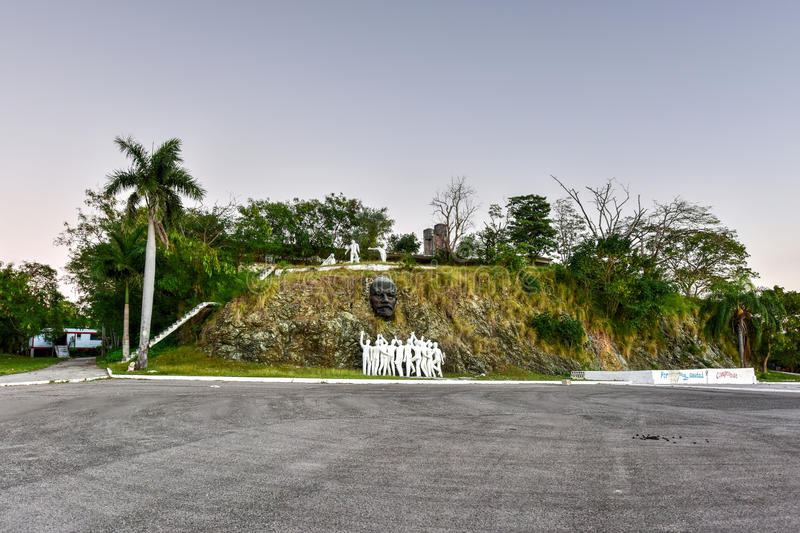 Colina Lenin Lenin Hill - Regla, La Havane, Cuba photo stock