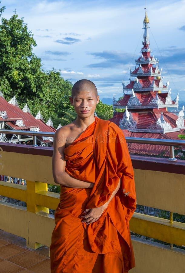 Colina Myanmar de Mandalay imagen de archivo libre de regalías