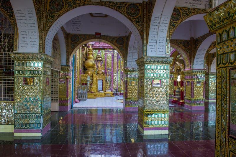 Colina Myanmar de Mandalay fotografía de archivo libre de regalías