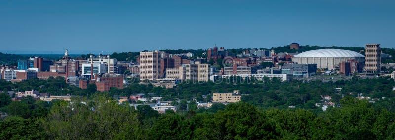 Colina y Syracuse Nueva York de la universidad foto de archivo
