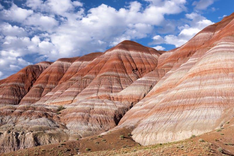 Colinas coloridas, Paria viejo Townsite, Utah fotografía de archivo libre de regalías