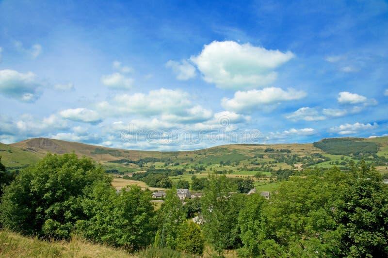 Colinas de Derbyshire imagen de archivo libre de regalías