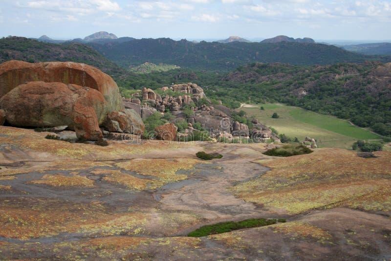 Colinas de Matobo foto de archivo