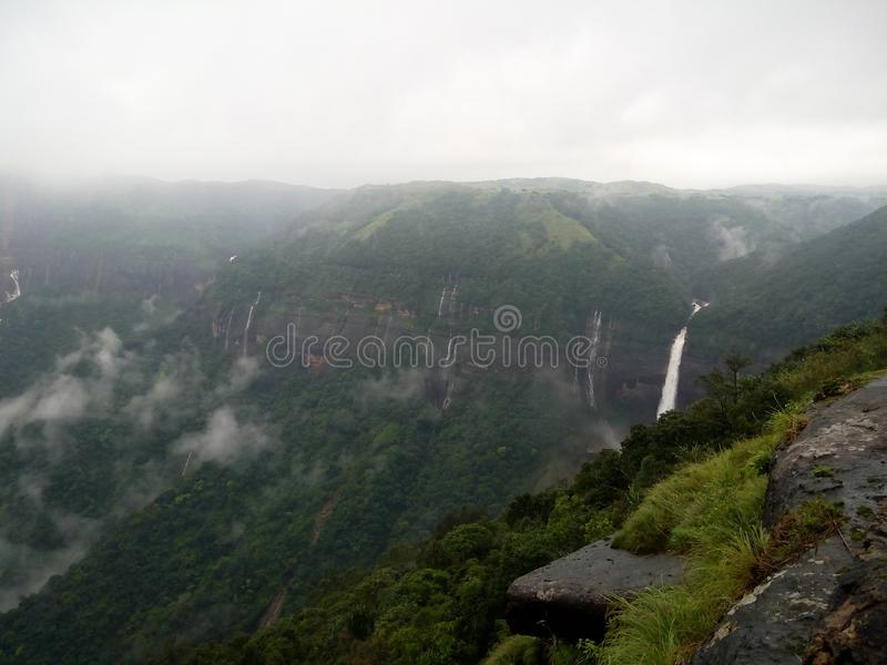 Colinas de Shillong imagenes de archivo