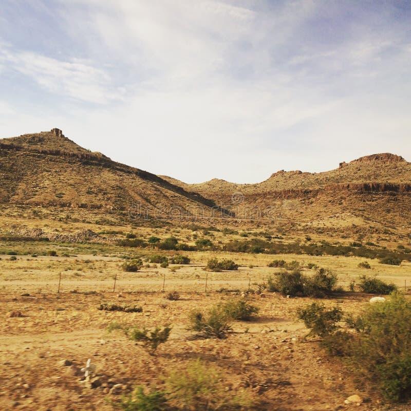 Colinas del desierto de California Dunas en verano imagen de archivo libre de regalías