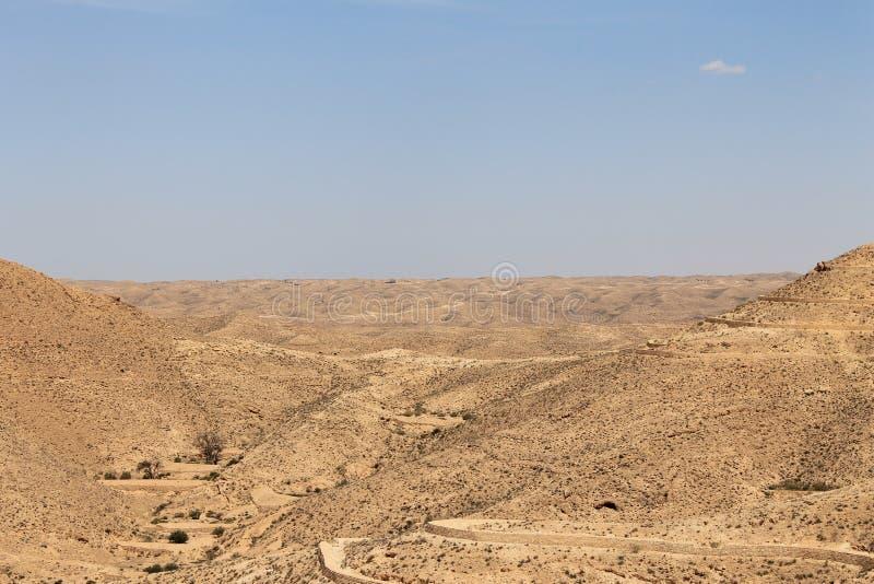 Colinas tunecinas imagen de archivo