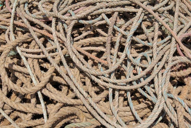 Colis av fiskerepbakgrund royaltyfria foton