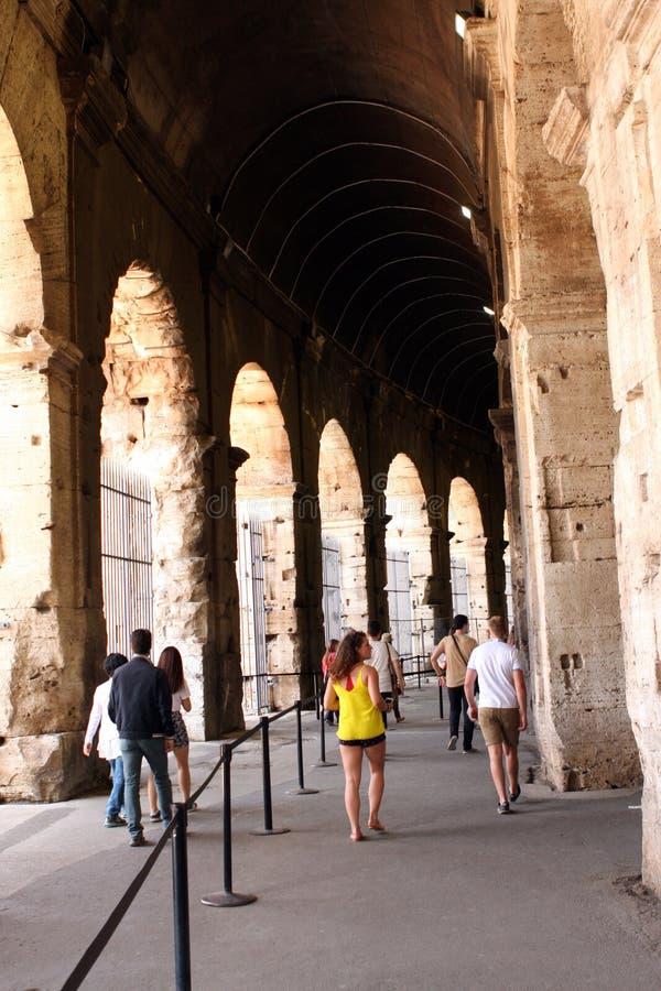 Coliseo Roma Italia fotografía de archivo