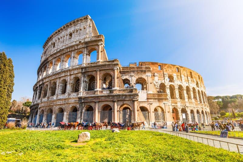 Coliseu em Roma fotos de stock