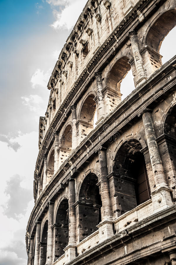 Coliseu em Roma imagens de stock