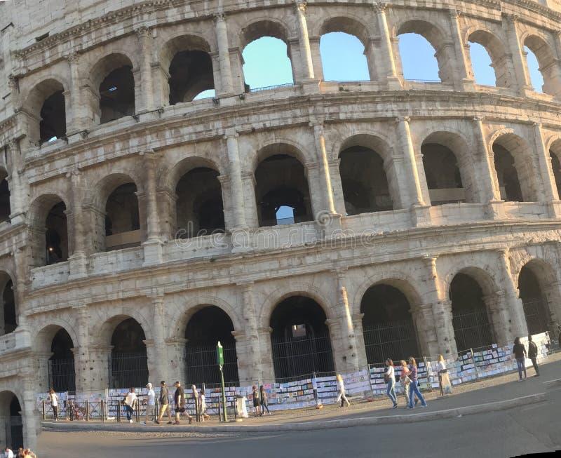 Coliseu Roma, Itália foto de stock
