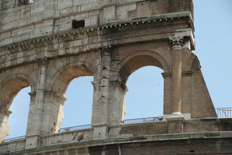 Coliseu romano fotografia de stock