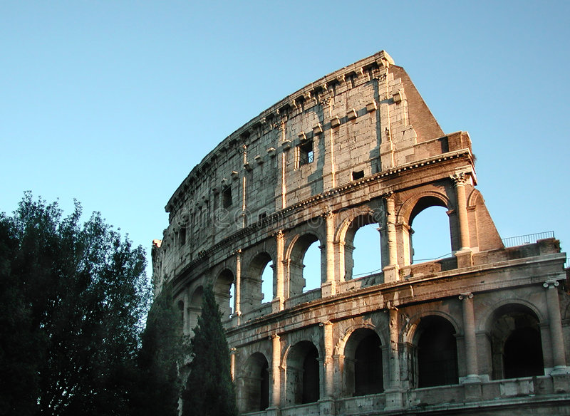 coliseum Ρώμη στοκ εικόνα με δικαίωμα ελεύθερης χρήσης