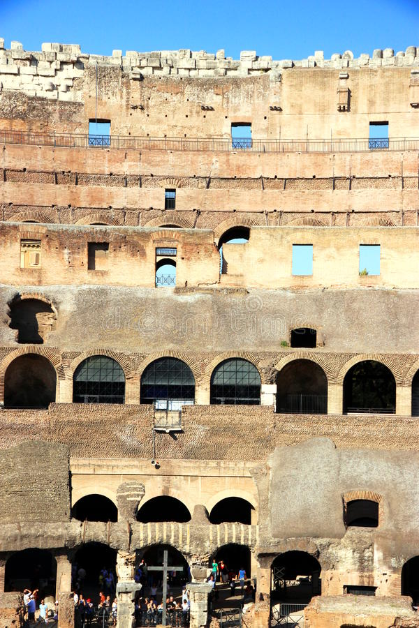 Download Coliseum editorial stock photo. Image of roman, ruins - 21479518