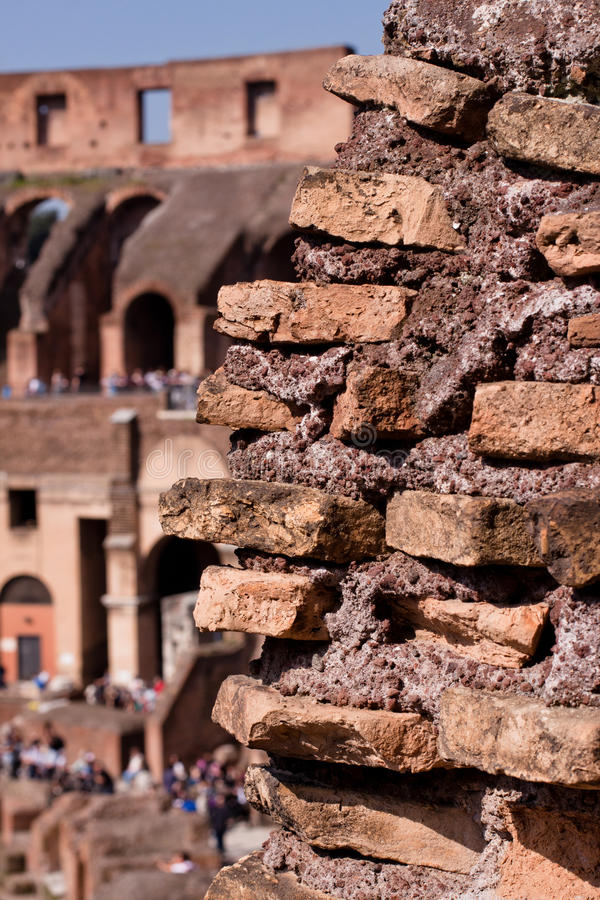 Download Coliseum stock photo. Image of arch, brown, sunny, stone - 24881160