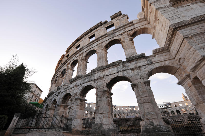 Download Coliseum stock image. Image of cesar, architecture, clear - 26936923