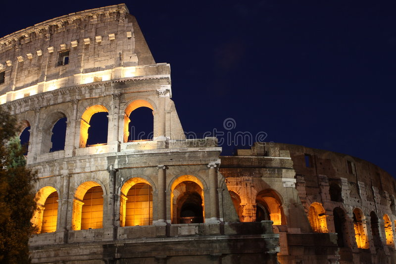 coliseum στοκ φωτογραφία