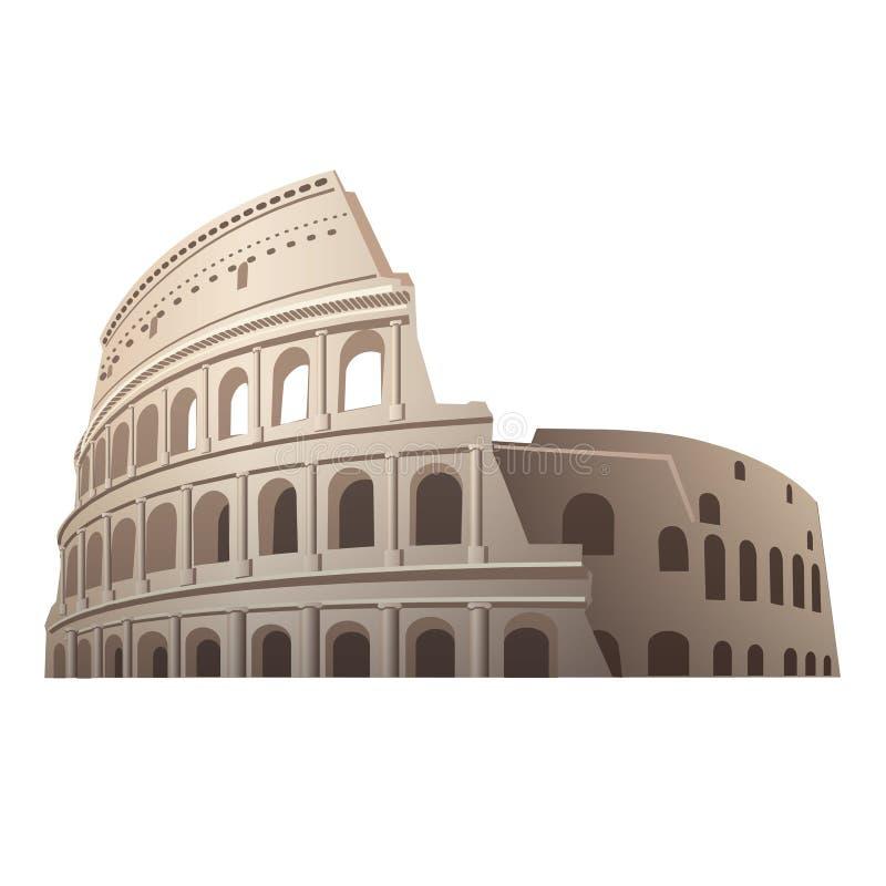 coliseum ilustração do vetor