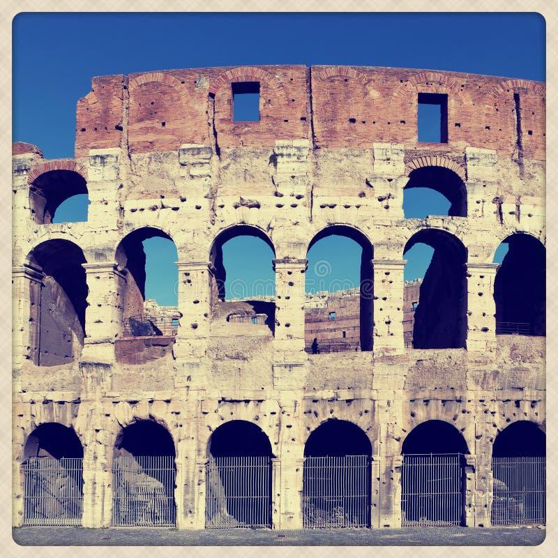 Coliseum amphitheater stock photos