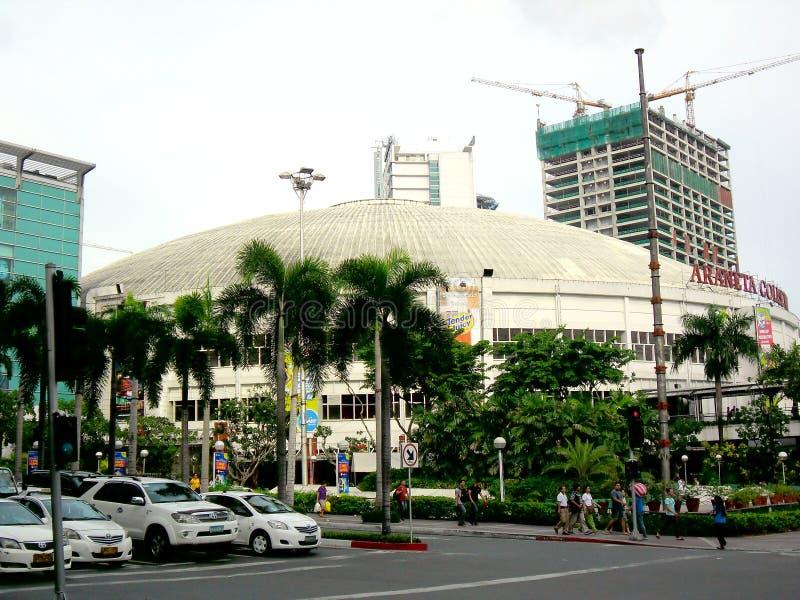 Coliseum Araneta στο cubao, quezon πόλη στις Φιλιππίνες, Ασία στοκ φωτογραφία με δικαίωμα ελεύθερης χρήσης