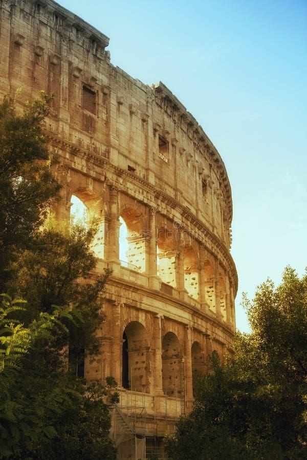 Coliseum av Roma fotografering för bildbyråer