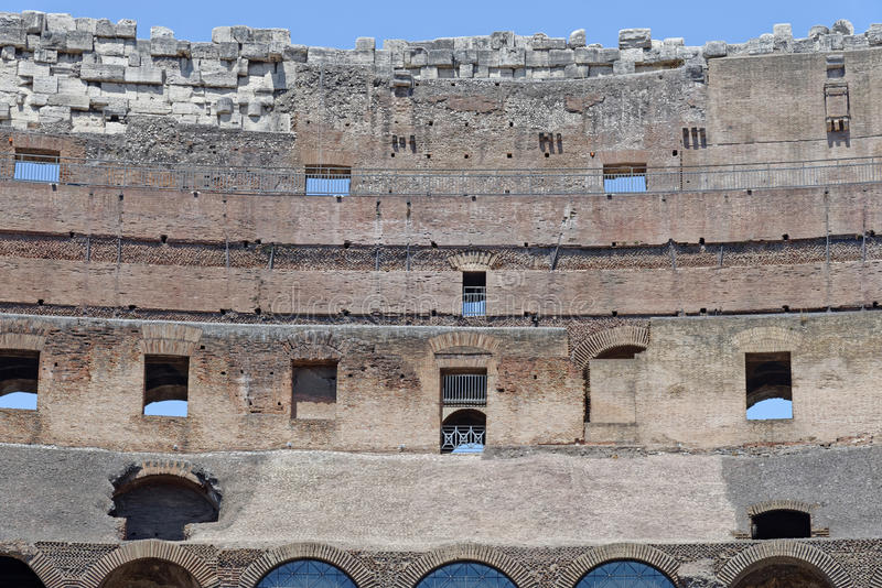 The coliseum stock images