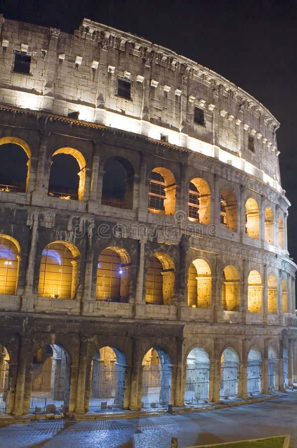 Coliseum in Italy royalty free stock photos