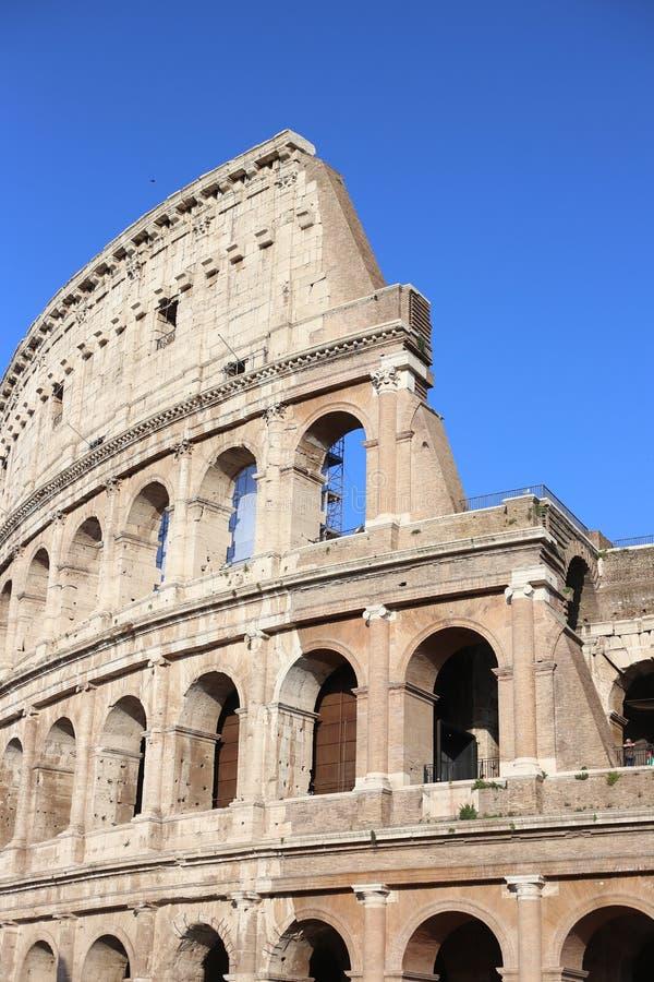 Coliseum, Rom, Italien royaltyfria bilder