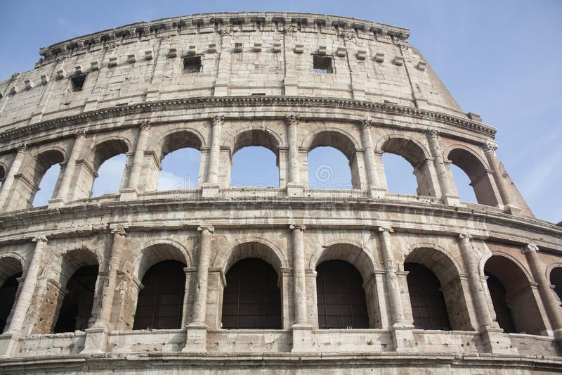 Coliseum in Rome stock afbeeldingen