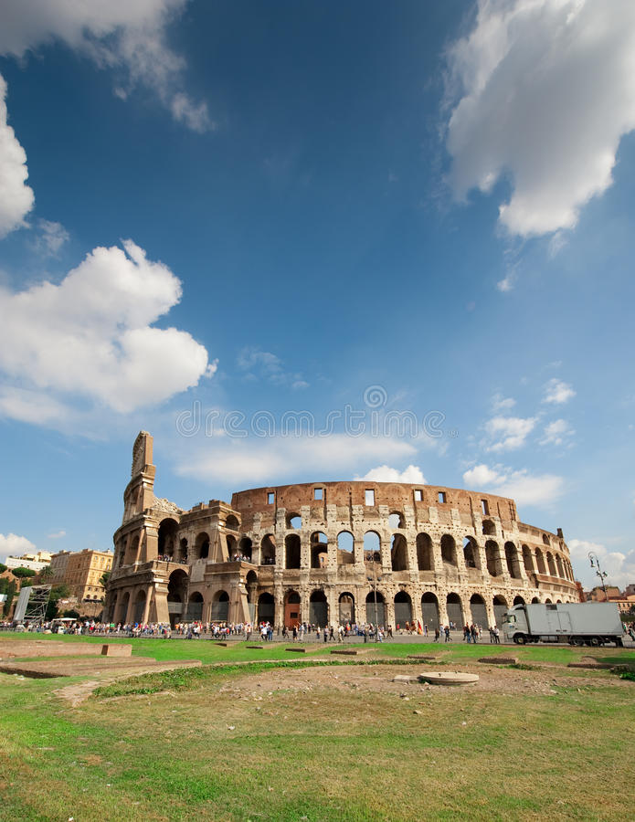 Coliseum Rome royalty free stock images