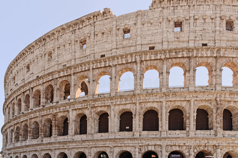 Download The Coliseum, rome stock photo. Image of arches, battles - 58991170