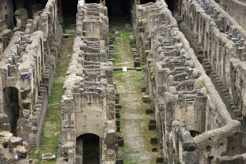 Coliseum in Rome, Italië. royalty-vrije stock foto