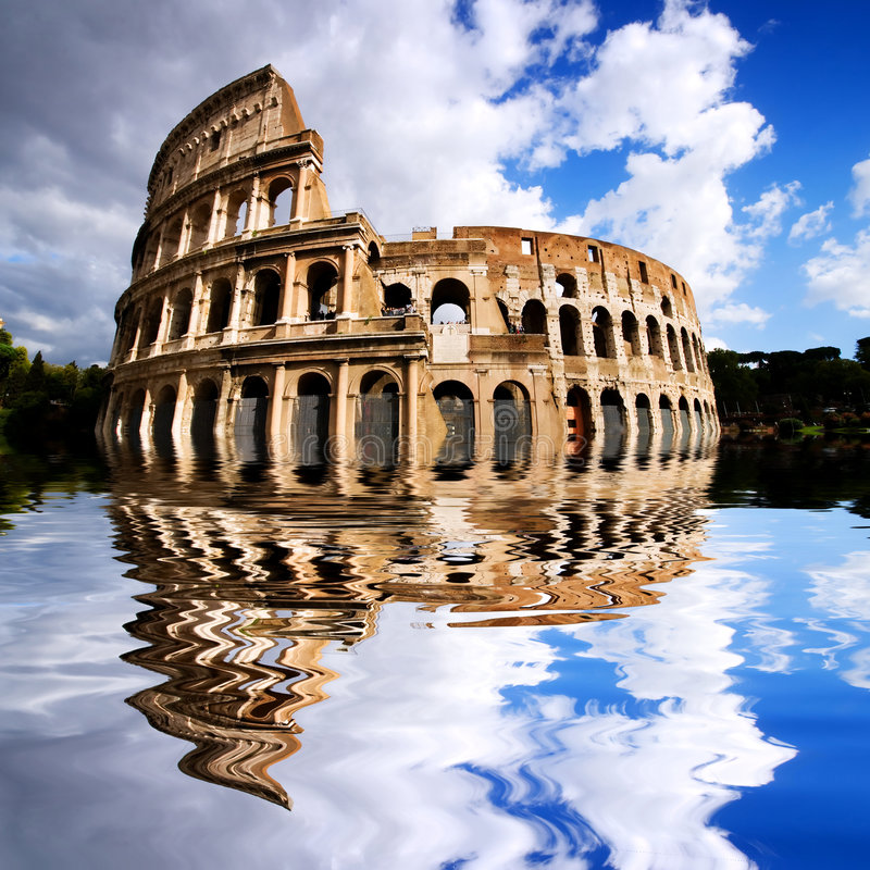 Download Coliseum In Rome, Italy Stock Photo - Image: 4142180
