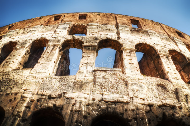 Download Coliseum in Rome Italy stock photo. Image of coliseum - 7317702