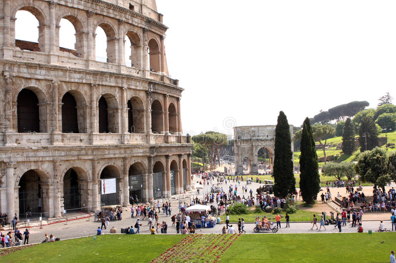 Coliseum Rome Italy royalty free stock images