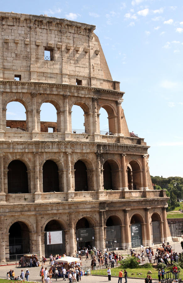 Coliseum Rome Italy stock images