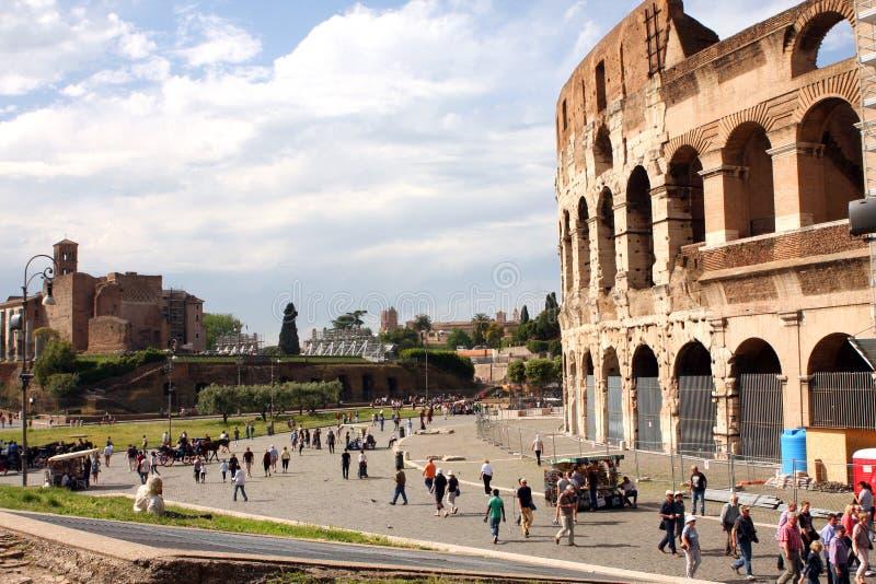 Coliseum Rome Italy stock photo
