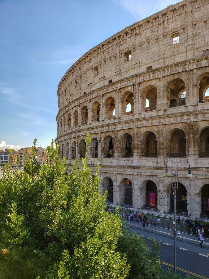 Coliseum van Rome, Italië - Colisée DE Rome, Italie royalty-vrije stock afbeeldingen