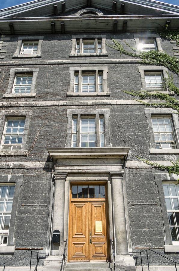 Collège de Montréal stock photo