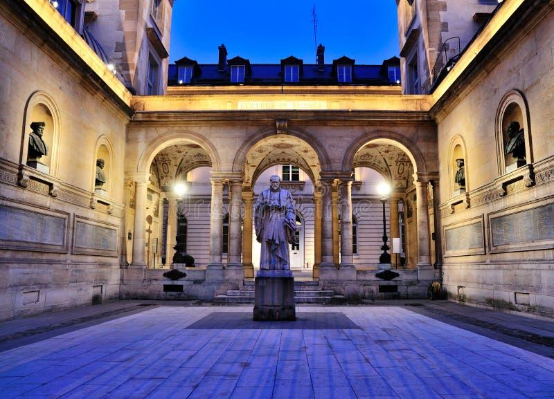 Collège de France, Paris lizenzfreie stockfotografie