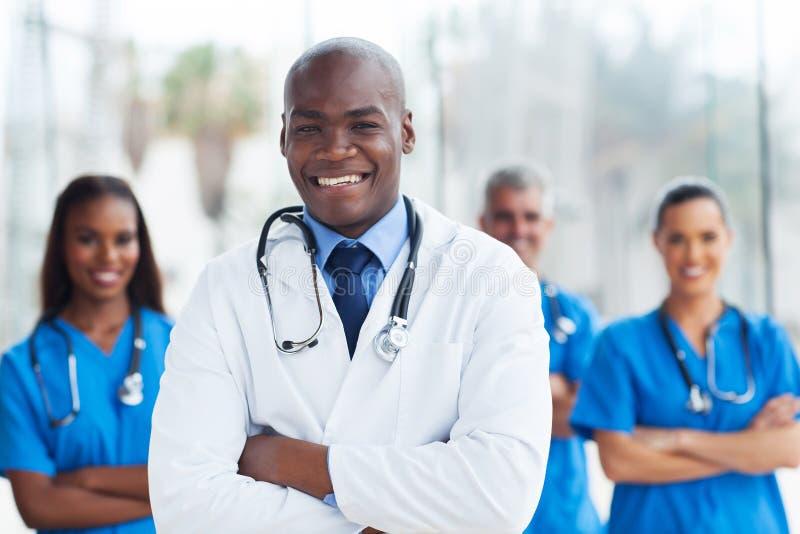 Collègues de médecin images libres de droits