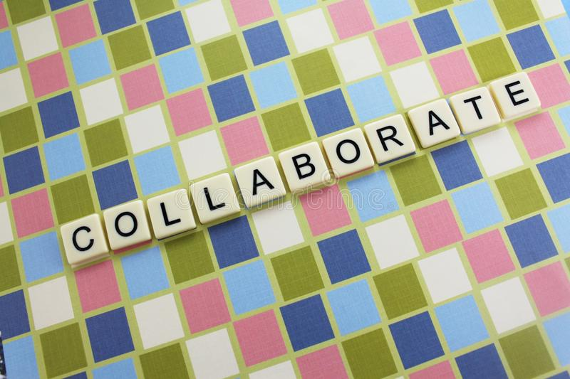 Collaborez photo stock