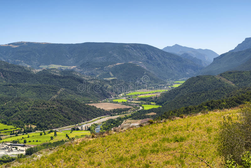 Collado del Canto (Pyrenees, Catalunya) royalty free stock photo