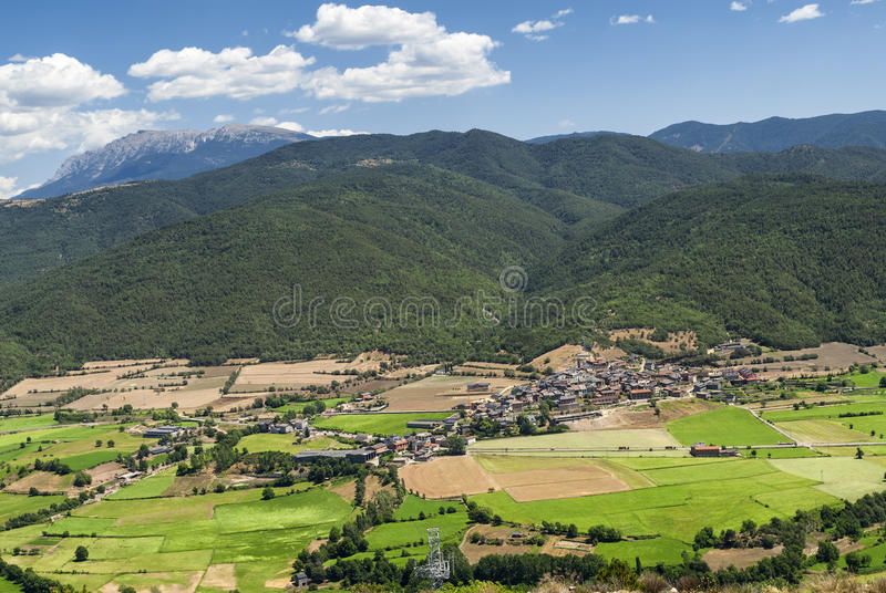 Collado del Canto (Pyrenees, Catalunya) royalty free stock photography