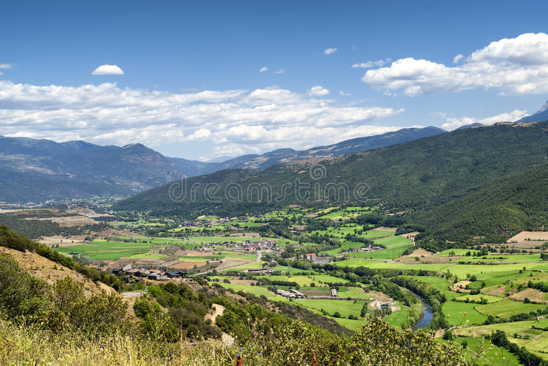 Collado del Canto (Pyrenees, Catalunya) stock images