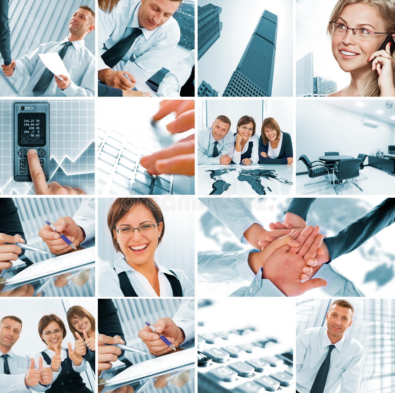 Download Collage stock image. Image of interacting, employee, crisis - 15872325