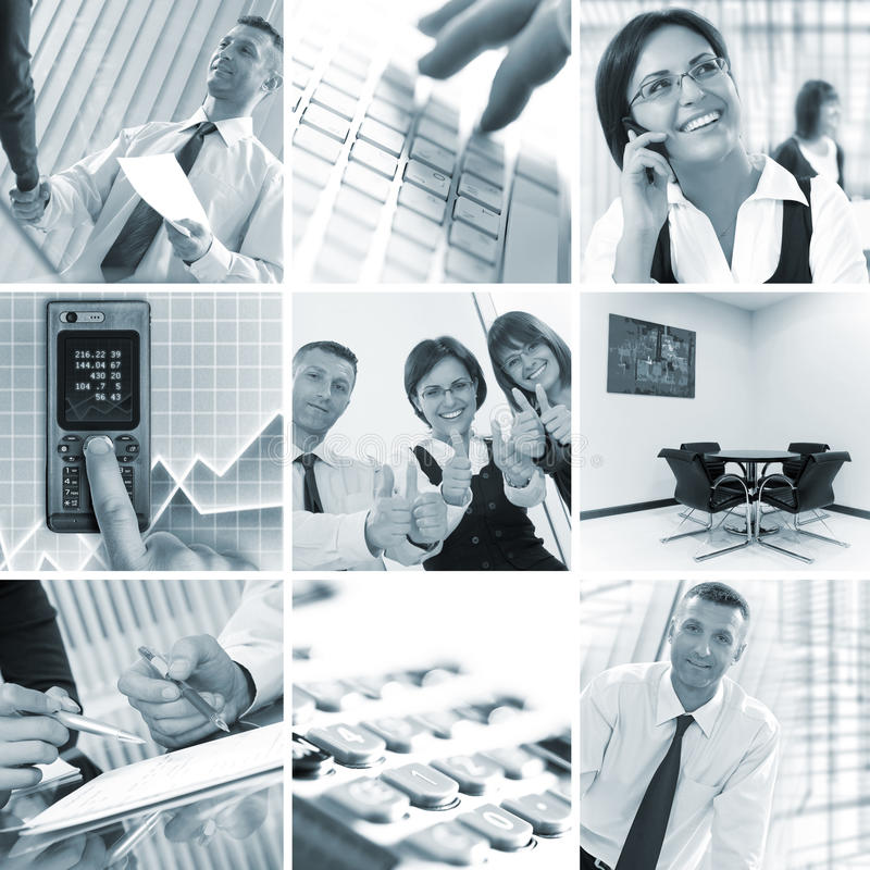 Download Collage stock photo. Image of businesswoman, manager - 15872724