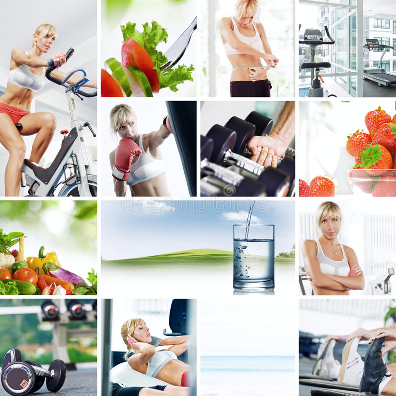 Download Collage stock photo. Image of aerobic, energy, fresh - 15888538