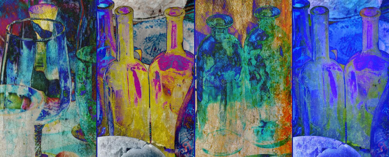 Download Collage foto de archivo. Imagen de cristal, textura, collage - 42437576